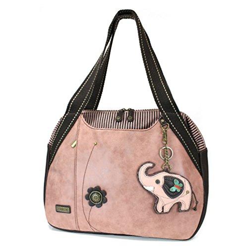 Chala Elephant Bowling Bag, Dusty Rose (Pink Ladies Bowling Bag)