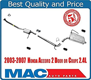 Middle Muffler Extension Pipe and Rear Muffler for Nissan Murano 2003-2005