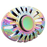 2017 Upgraded Fidget Spinner Butterfly Fish Shaped Rainbow Hand Spinner Stress Reducer Focus Fidget Toy Perfect for Killing Time