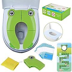 Azul Orinal de Beb/é Reductor WC Ni/ños Sunzit Asiento Inodoro para Ni/ños Anillo para entrenador de inodoro para Beb/é Reductor Infantil como Protector