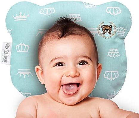 Almohada bebé Almohada contra la deformación Memory foam Bear