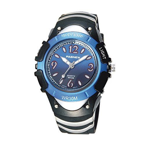Kids Girls Watches, Dual Time Waterproof Sports Casual Wrist Watches with Star Bling 2001ad Purple (316g Dark Blue)