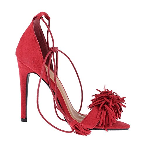 Red Mujer Con Miss Tacón Diva Zapatos WXxqnwzC8A