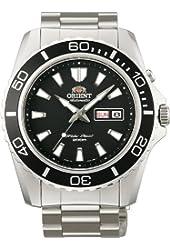 Orient #FEM75001B Men's Mako XL Stainless Steel Black Dial Automatic Dive Watch