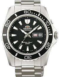 Orient Mens CEM75001B 200m Diver Watch21 Jewels Black Watch