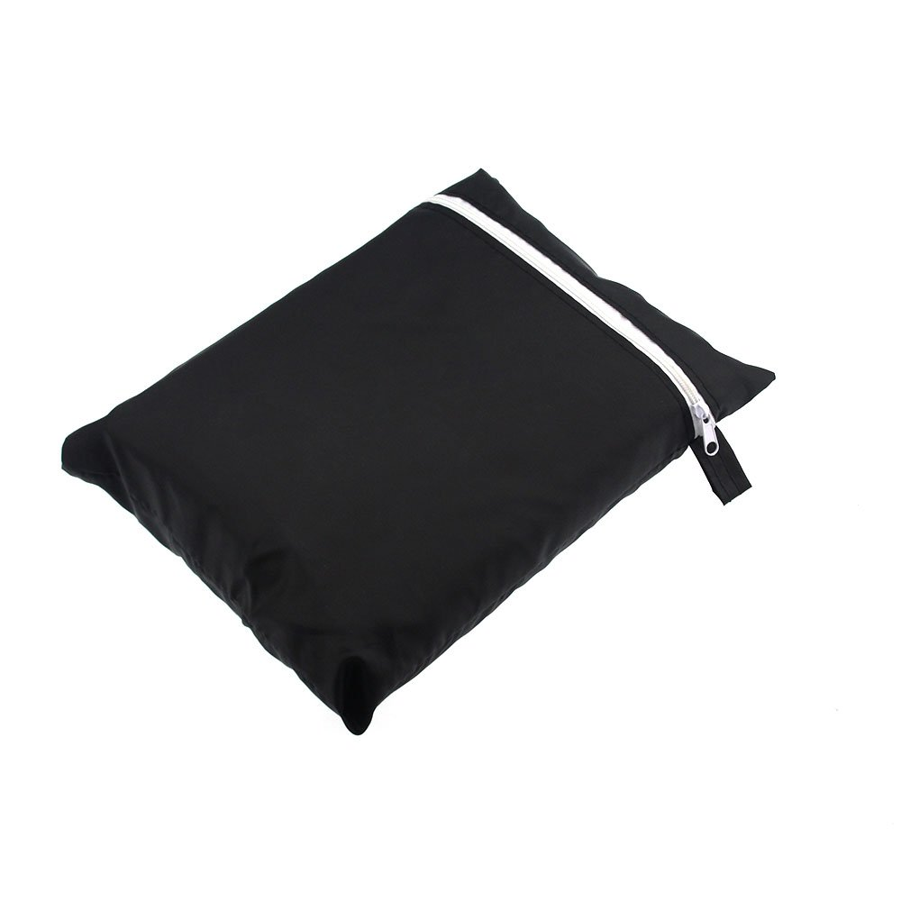 feifei Black 2-Seater Bench Patio Cover Chair Cover Durable & Waterproof Bench cover