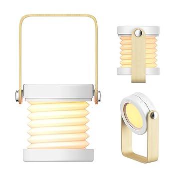 Lamps, Lighting & Ceiling Fans Beautiful Nachtlicht Usb Wiederaufladbar Mit Schalter 18 Led-licht Tragbare Tischleuchte