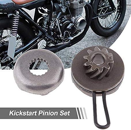 1 Kick Start Pignon de Rechange for pignon de d/émarrage for Moteur 50cc Minarelli Yamaha Aerox 50 2 Temps MBK Nitro Etc WYX-CHILUN