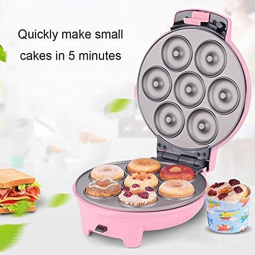 GOHHK Fer Repasser Mini Maker pour gaufres Individuelles Paninis avec plaques antiadhésives pour Autres Petits-déjeuners ou collations emporter