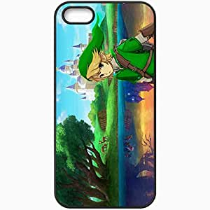 Personalized For SamSung Galaxy S5 Mini Phone Case Cover Skin The Legend Of Zelda A Link Between Worlds Black