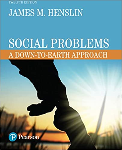 Social Problems A Down To Earth Approach Kindle Edition By James