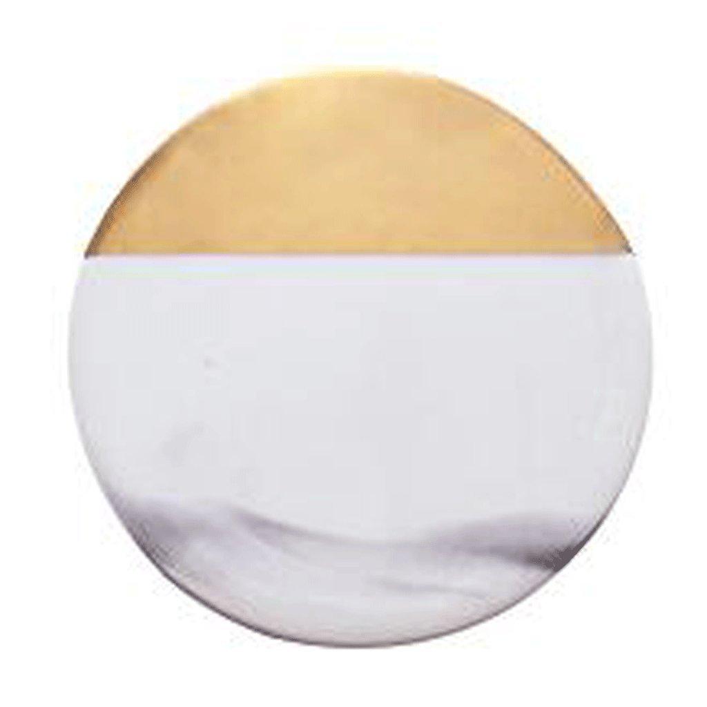 Compra Posavasos ZLR Antideslizante Creativo Colchones de cerámica con Aislamiento Colchones de mármol Redondo (Color : B) en Amazon.es