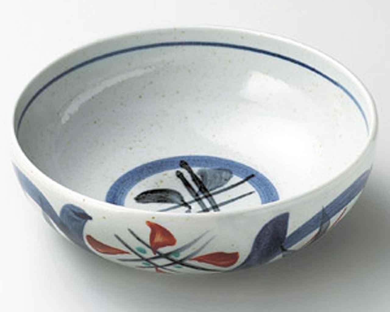 Mashiko Marumon 13cm Suppenschalen Grey porcelain Japanisch traditionell