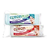 COTTON PLUS SOLUTION 2 IN 1 - EYE AND FACE MAKE-UP REMOVER MINI 60 COMBO SET