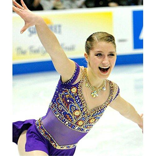 SISHUINIANHUA Eiskunstlaufkleid Damen Mädchen Eiskunstlaufkleider Anatomisches Design Ärmellos Leistung Eiskunstlaufkleidung Hochelastisch Tactel B07J27HXZN Bekleidung Tadellos