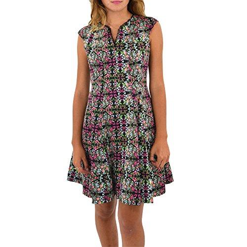 Julia Jordan Fit & Flare Floral Dress in Multi (4, Multi) by Julia Jordan