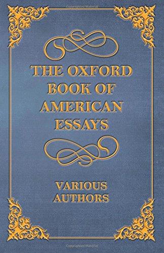 oxford book of essays pdf