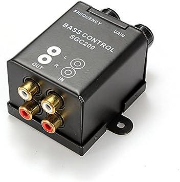 LC-03 Filtre RCA r/égulateur contr/ôle /à Distance fr/équence et Volume du Caisson de Basses Sound Way