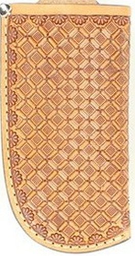 Nocona Men's Basketweave Leather Knife Sheath - Small