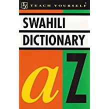 Concise Swahili and English Dictionary