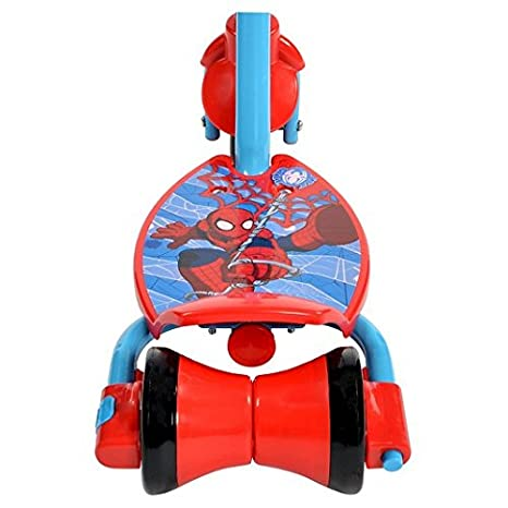 Amazon.com: Huffy Marvel Spider-Man 3 – 2-grow – Patinete ...