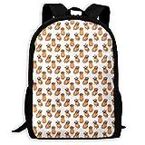 UYILP Pug Wreath Adult Premium Travel Backpack, Water-Resistant Big Business College School Bookbag Daypack,Rucksack, Laptop Bag for Men&Women