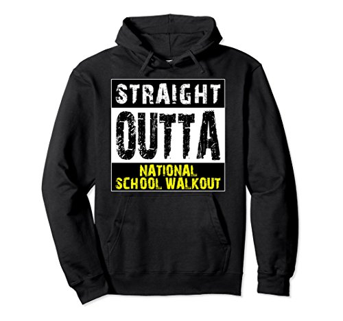 Unisex Straight Outta National School Walkout Pullover Hoodie Large - Bans Best Com