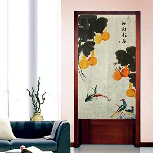 Japanese Noren Curtains Doorway Cloth Curtain Traditional Door Noren by LifEast