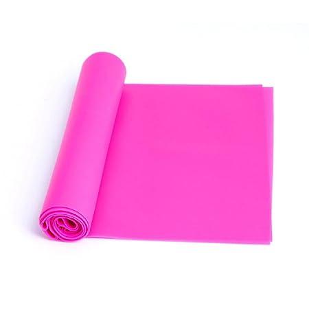 Banda elástica de goma para yoga, pilates, 1,2 m Rose Pink ...