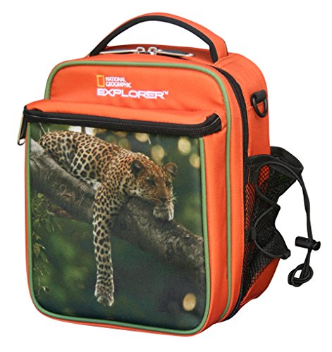 National Geographic Boy's Lunch Tote, Leopard, One Size