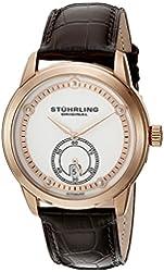 Stuhrling Original Men's 720.04 Leisure Gen X Circuit Automatic Date Rose Tone Watch