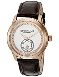 Stuhrling Original Men's 720.04 Leisure Gen X Circuit Automatic Date Rose Tone Watch
