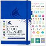 Clever Fox Budget Planner - Expense Tracker Notebook. Monthly Budgeting Journal, Finance Planner & Accounts Book to Take Control of Your Money. Undated - Start Anytime. A5 Size Royal Blue Hardcover