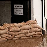 Hessian Unfilled Sandbags Pack of 100 by Parrs