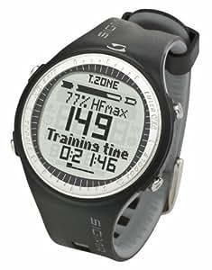 Sigma Pulsuhr PC 25.10 Reloj Pulsómetro PC25.10 Negro-Gris, Incluye Banda torácica, señal codificada, Unisex_Adulto