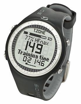 Sigma Pulsuhr PC 25.10 Reloj Pulsómetro PC25.10 Negro-Gris, Incluye Banda torácica, señal codificada, Unisex_Adulto: Amazon.es: Deportes y aire libre