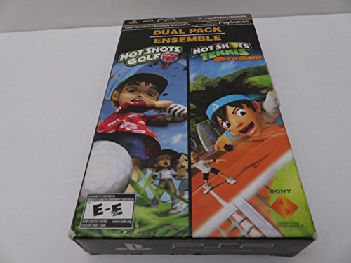 PSP 2-PACK - HOT SHOTS GOLF AND HOT SHOTS TENNIS