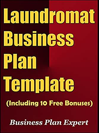 Amazon Laundromat Business Plan Template Including 10 Free