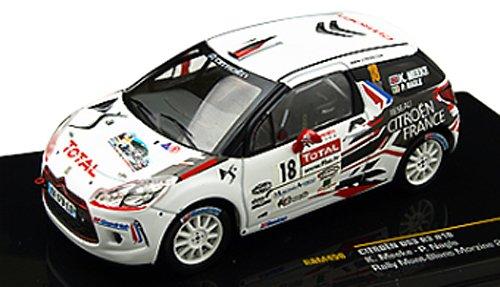 1/43 シエトロンDS3 R3 2010年ラリー・モンブラン #18 K.Meeke/P.Nagle RAM458