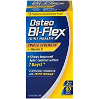 Osteo Bi-Flex Triple Strength + Vitamin D, Coated Tablets 80 ea (Pack of 2)