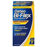 Osteo Bi-Flex Triple Strength + Vitamin D, Coated Tablets 80 ea (Pack of 4)