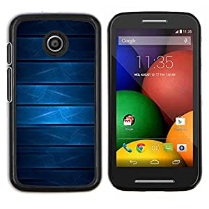 Smartphone duro PC Carcasa Funda protectora para Motorola Moto E (1. Generación)/Phone Case TECELL Store/Cool azul geomtetric patrón