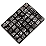 Changeshopping Nail Stamping Printing Plate Image Stamps Plate Manicure Nail Art Decor
