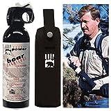 9.2oz.-260g Magnum Bear Spray W/ Chest Holster