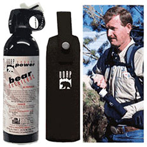9.2oz.-260g Magnum Bear Spray W/ Chest Holster by Udap