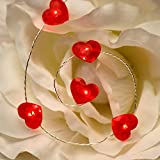 Best String Light For Decorations - 10ft 50 LED Love Red Heart String Lights Review