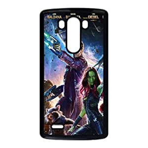 LG G3 Cell Phone Case Black guardians of the galaxy poster film LV7075777