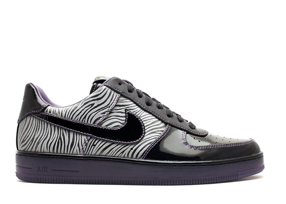 Nike AIR Force 1 Downtown NRG 'Zebra' 573979 003: Amazon