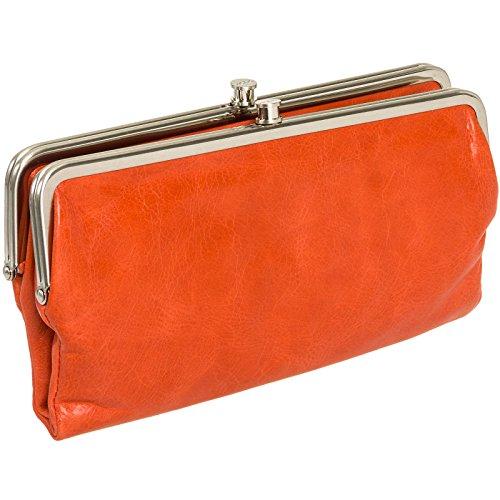Hobo Womens Genuine Leather Vintage Lauren Clutch Wallet (Grenadine)