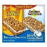 General Breakfast Bar Milk 'n Cereal Variety Pack 9OZ (Pack of 20)